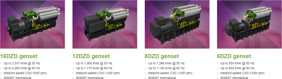 genset solutions that are designed according to the needs of each project